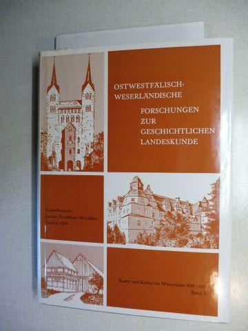 Stoob (Hrsg.), Heinz, Alfred Hartlieb von Wallthor (Hrsg. d. Veröff.) und Karl-Heinz Kirchhoff: KUNST UND KULTUR IM WESERRAUM 800-1600 - Bd. 3 Forschungsband : OSTWESTFÄLISCH-WESERLÄNDISCHE FORSCHUNGEN ZUR GESCHICHTLICHEN LANDESKUNDE *.