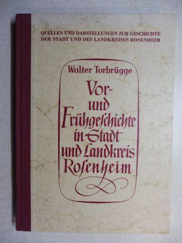 Torbrügge, Walter und Albert Aschl (Hrsg.): Vor- und Frühgeschichte in Stadt und Landkreis Rosenheim *.