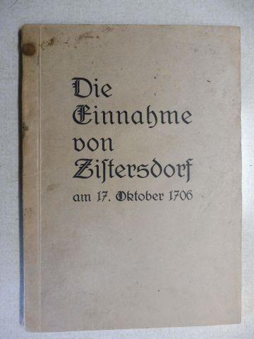 Binder, Franz: Die Einfälle der Kuruzzen 1703-1706 und die Einnahme von Zistersdorf am 17. Oktober 1706 *. Eine Sammlung von Aufsätzen und zeitgenössischen Berichten.
