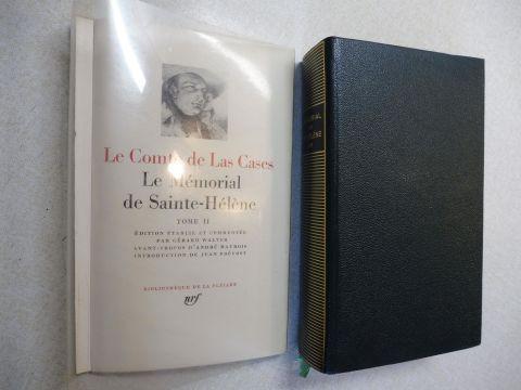 Las Cases *, Emmanuel-A.D.J. Le Comte de, Gerard Walter (Edition etablie et annotee) und Maurois / Prevost: LE MEMORIAL DE SAINTE-HELENE. TOME II. BIBLIOTHEQUE DE LA PLEIADE.