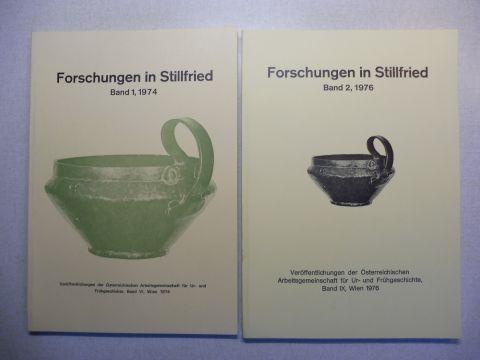 Felgenhauer (Hrsg.), Fritz: Forschungen in Stillfried - Band 1, 1974 / Band 2, 1976 *. 2 Bände. Mit Beiträge.
