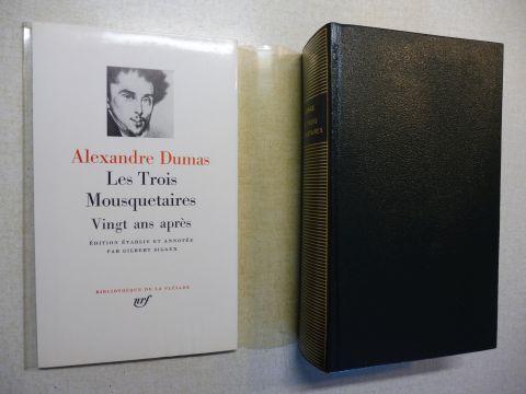 Dumas, Alexandre und Gilbert Sigaux (Edtion etable et annotee): ALEXANDRE DUMAS (Pleiade) Les Trois Mousquetaires / Vingt ans apres.