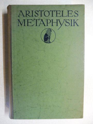 Aristoteles und Adolf Lasson: ARISTOTELES - METAPHYSIK *.