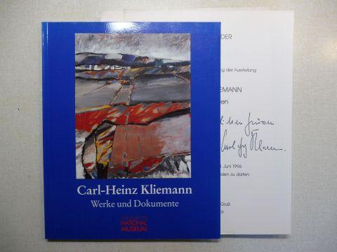Großmann (Hrsg.), G. Ulrich, Irmtraud Frfr v. Andrian-Werburg Andrea M Kluxen u. a.: Carl-Heinz Kliemann - Werke und Dokumente *. Archiv für Bildende Kunst im Germanischen Nationalmuseum Nürnberg