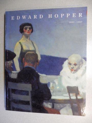 Larsen, Susan C., Marc Holthof Paul Levine a. o.: EDWARD HOPPER 1882-1967 (Schirn Kunsthalle 1992 1993) *.