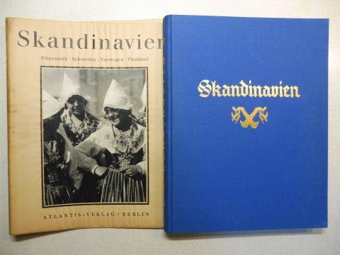 Hürlimann (Hrsg.), Martin, Waldemar Rördam/Ernst Klein Theodor Caspari/Johannes Öhquist u. a.: SKANDINAVIEN - DÄNEMARK . SCHWEDEN . NORWEGEN . FINNLAND *. Baukunst Landschaft Volksleben.