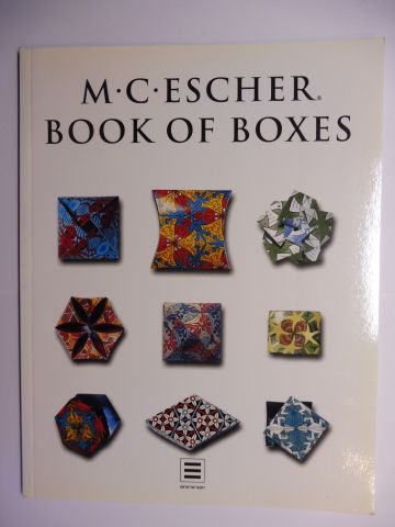 Elffers, Joost, Andreas Landshoff and M.C. Escher: M.C. ESCHER BOOK OF BOXES *.