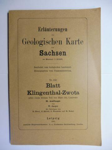 Ebert, H., F. Härtel und F. Wernicke / W. Wobst: Erläuterungen zur Geologischen Karte von Sachsen (im Maßstab 1 : 25 000) Nr. 152 - Blatt Klingenthal-Zwota nebst einem kleinen Teil von Blatt 155, Landwüst. II. Auflage *.