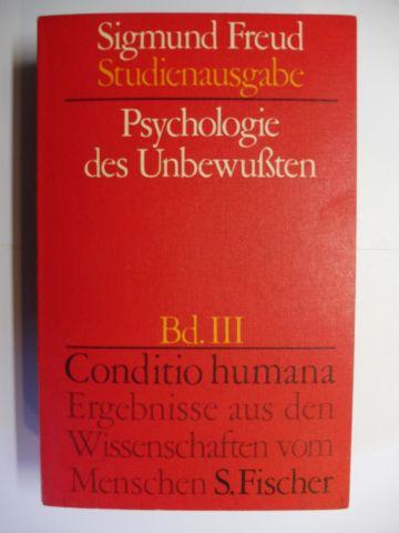Mitscherlich (Hrsg.), Alexander, Angela Richards James Strachey u. a.: Sigmund Freud - Psychologie des Unbewußten *.