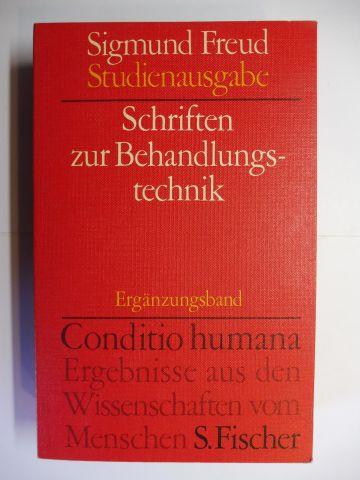 Mitscherlich (Hrsg.), Alexander, Angela Richards James Strachey u. a.: Sigmund Freud - Schriften zur Behandlungstechnik *.