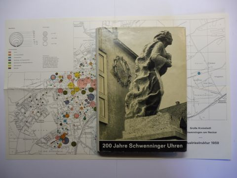 Kurz, Peter: 200 Jahre Schwenninger Uhren 1765-1965 *. Mit zahlr. Beiträge.