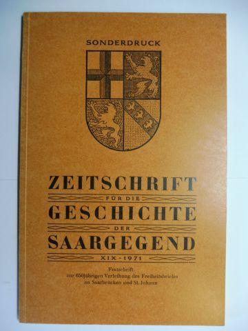 Herrmann, Hans-Walter und Erich Nolte: Zur Frühgeschichte des Stiftes St. Arnual und des Saarbrücker Talraumes *. (Sonderdruck).
