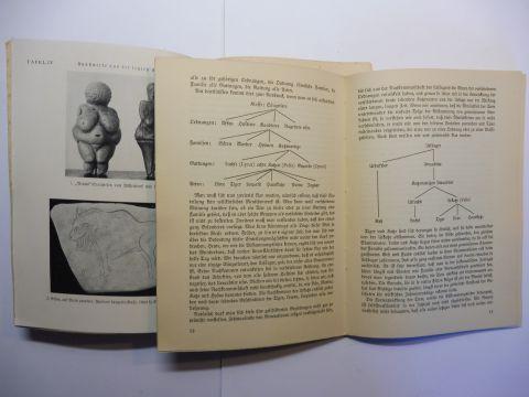 Buddenbrock (1), Prof Dr. Wolfgang Freiherr v., Prof. Dr. Hans Weinert (2) und Prof. Dr. Hanns v. Lengerken (Hrsg.): 2 N.S.- HEFTE (Abstammungstheorien) Volk und Wissen Bd. 10 u. 19 : 1) Abstammungslehre / 2) Unsere Eiszeit-Ahnen *.