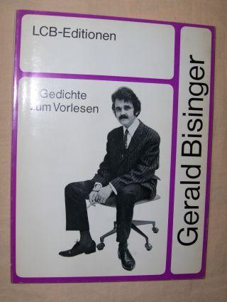 Bisinger, Gerald: 7 Gedichte zum Vorlesen *.