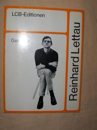 Lettau, Reinhard: Gedichte *. Grafik von Uwe Bremer.