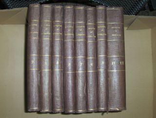Mace (Hrsg.), Jean, P.-J. Stahl (Hrsg.) Jules Verne (Hrsg. , ab N° 6) u. a.: MAGASIN D`EDUCATION ET DE RECREATION. Tomes 2 + 3 + 4 + 5 + 6 + 7 + 8 + 11/12 *. Insgesamt 9 Teile in 8 Bände (8 Volumes).