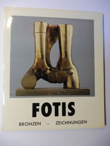 Barlach, Hans, Ulrich Gertz und Chatziioannidis Fotis *: FOTIS *. BRONZEN - ZEICHNUNGEN. + AUTOGRAPH *. GALERIE HANS BARLACH. HAMBURG.