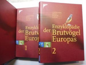Limmbrunner / Bezzel / und Richarz / Singer: Enzyklopädie der Brutvögel Europas. 2 Bände im Schuber *.