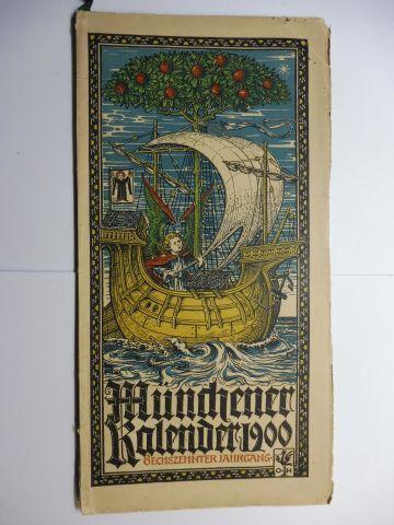Hupp (Wappenillustr.), Otto und Otto Hupp (Illustr.): Münchner Kalender 1900 *. Sechszehnter Jahrgang.