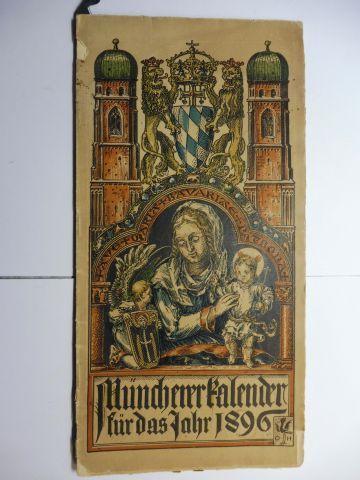 Hupp (Wappenillustr.), Otto und Otto Hupp (Illustr.): Münchner Kalender 1896 *.