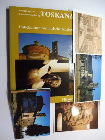Salvini, Roberto und Tet Arnold von Borsig: TOSKANA - Unbekannte romanische Kirchen.