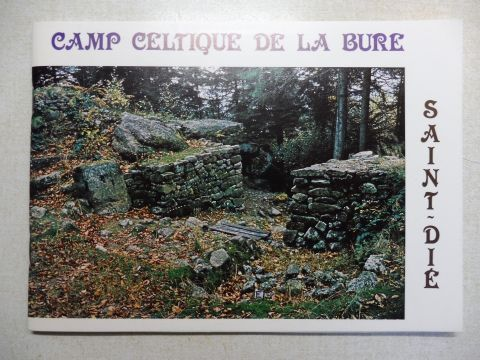 Tronquart, Georges und Paul Gaidon (Photographies): CAMP CELTIQUE DE LA BURE . SAINT-DIE *.