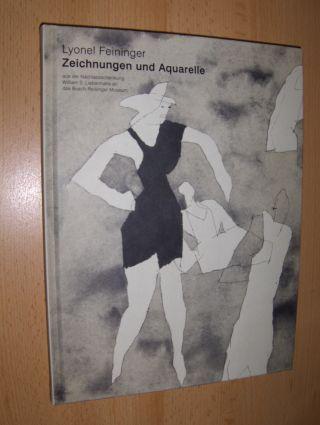 Nisbet, Peter: Lyonel Feininger Zeichnungen und Aquarelle aus der Nachlassschenkung William S. Liebermans an das Busch/Reisinger Museum *.