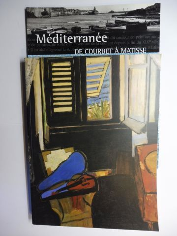 Foulon, Beatrice, Celine Julhiet-Charvet Francoise Dios u. a.: Mediterranee DE COURBET A MATISSE - Catalogue Exposition Grand Palais + Numero Beaux Arts COLLECTION. 2 Volumes (2 Bände) *.
