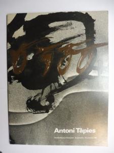 de Wilde, Edy, Marja Bloem Bert Jansen a. o.: Antoni Tapies - Stedelijk Museum Amsterdam 25 september - 16 november 1980 *.