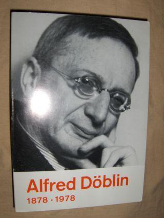 Zeller (Hrsg.), Bernhard: Alfred Döblin 1878-1978 *.