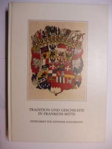 Rechter (Hrsg.), Gerhard, Robert Schuh Werner Bürger u. a.: HISTORISCHER VEREIN FÜR MITTELFRANKEN *. 95. JAHRBUCH 1990-1991. TRADITION UND GESCHICHTE IN FRANKENS MITTE - FESTSCHRIFT FÜR GÜNTHER SCHUHMANN.
