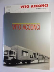 Barzel, Amnon and Vito Acconci *: VITO ACCONCI *. PRATO 1992. Italiano / English.