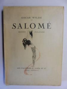Wilde, Oscar, Ad. van Bever (Note) und Alastair (Illustr.): SALOME. DRAME EN UN ACTE. DESSINS D`ALASTAIR *.