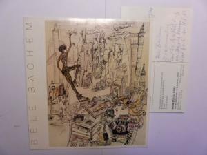 Figley (Director), Jeffrey, Belle Bachem * Bodley Gallery a. o.: BELE BACHEM - paintings. sculpture. drawings. + 2 AUTOGRAPHEN *.