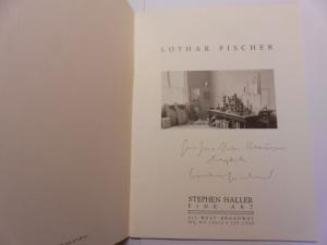 Fischer *, Lothar, David Hornung and Stephen Haller (Gallery): Lothar Fischer (Plastiken) - STEPHEN HALLER FINE ART NY + AUTOGRAPH *.
