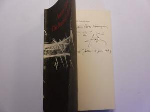 Tapies *, Antoni, Kurt Leonhard (Neue Fassung der Übersetzung) und Gret Schib / Josep Grau (Übers.): ANTONI TAPIES : Die Praxis der Kunst. + AUTOGRAPH *.