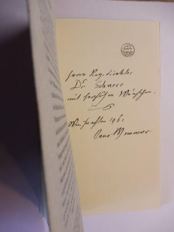 Wimmer *, Hans: HANS WIMMER. ÜBER DIE BILDHAUEREI. + AUTOGRAPH *. Erfahrungen bei der Arbeit - Notizen in der Werkstatt. 0