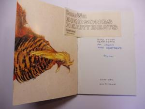 Weil *, Susan: SUSAN WEIL - BIRDS SONGS HEARTBEATS. + AUTOGRAPH *.