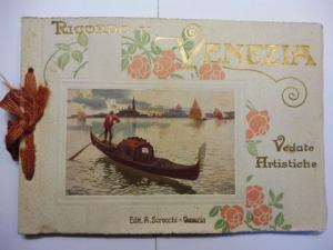 Scrocchi (Verlag), A.: RICORDO DI VENEZIA - 16 Vedute Artistiche. Italiano/Francais/English/Deutsch.