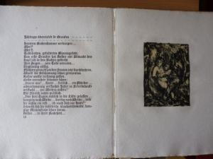 Hauptmann, Carl und Erich Büttner (Lithographien): Eva-Maria. Eine Legende von Carl Hauptmann - Illustriert von Erich Büttner.