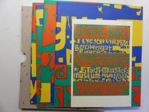 Buri *, Samuel: SAMUEL BURI rive droite 1994. 4 AUSSTELLUNGEN gleichzeit. : BILDER (Ausstellungsraum Klingental) - SCHWARZ/WEISS (Berowergut Riehen) - WAND+GLAS (Stadt- u. Münstermuseum Basel) - SCHWARZ/WEISS (Edition Franz Mäder Galerie). April-Mai 19...