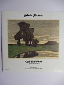 Glöckner, Bruno: Carl Thiemann - Farbholzschnitte *.