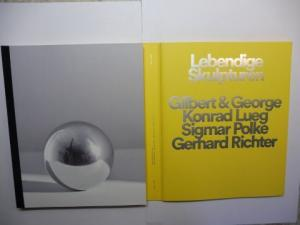Butin, Hubertus, Dieter Schwarz / Moritz Wesseler Sies + Höke Galerie u. a.: Lebendige Skulpturen *. Gilbert & George - Konrad Lueg - Sigmar Polke - Gerhard Richter *. English / Deutsch.