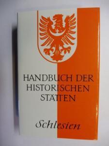 Weczerka, Dr. Hugo: HANDBUCH DER HISTORISCHEN STÄTTEN: SCHLESIEN *.