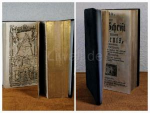 Luther, Martin(Übers.); Franke,Gotthilf August (Vorrede) BIBLIA, das ist die ganze Heil. Schrift alten und neuen Testaments, nach derteutschen Übersetzung D. Martin Luthers; nebst jedes Capitels kurzem Inhalt und richtiger Abtheilung, auch jedes Orts n...