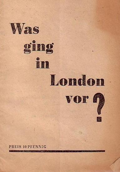 Molotow, W. M.: Was ging in London vor? Interview des Außenministers der Sowjetunion W. M. Molotow über die Ergebnisse der Londoner Außenminister - Konferenz [1945] mit Korrespondenten der 'Iswestija' und der 'Prawda' (Der Friedensw...