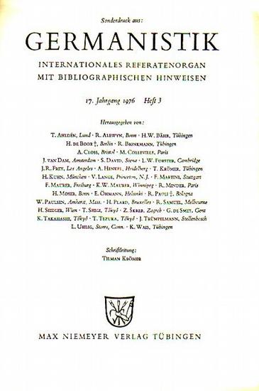 Hofmannsthal, Hugo von - Koch, Hans-Albrecht Buchbesprechungen zu: Hugo von Hofmannsthal 1.: Miachel Böhler - Soziale Einheit und hermeneutische Universalität bei Hofmannsthal. 2.: Klaus E. Bohnenkamp - Deutsche Antiken-Übertragungen als Grundalge der ...