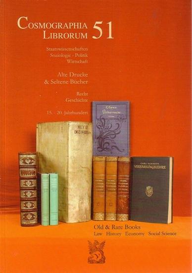 VICO. - Cosmographia Librorum 51 : Staatswissenschaften, Soziologie, Politik, Wirtschaft. Alte Drucke & Seltene Bücher. Recht, Geschichte. 15.-20. Jahrhundert. 1480 Positionen.