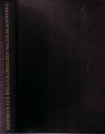 TOTOK, Wilhelm / WEITZEL, Rolf / Weimann, Karl-Heinz: Handbuch der bibliographischen Nachschlagewerke.