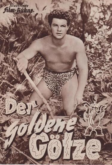 Illustrierte Filmbühne - Vereinigte Verlagsgesellschaften Franke & Co (Hrsg.). - Rockwood, Roy. - Illustrierte Film-Bühne. Nr. 2652. Der goldene Götze. (Bomba).